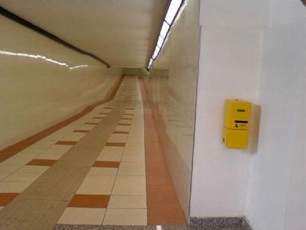 モンツァ駅地下道