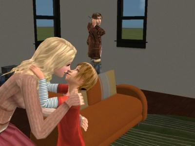オルク、自分の子どもに嫉妬(笑)