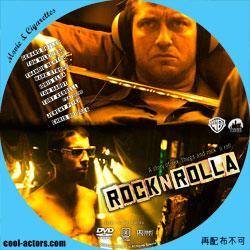 ロックンローラ DVD ラベル