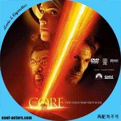 ザ・コア DVD ラベル