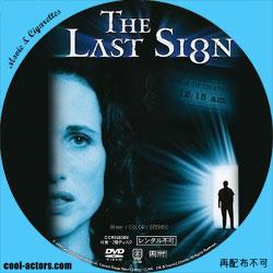 The Last Sign ザ・ラスト・サイン DVD ラベル