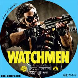 ウォッチメン DVD ラベル