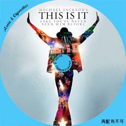 THIS IS IT DVD ラベル(レーベル)