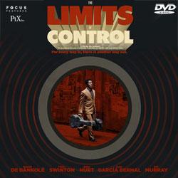 リミッツ・オブ・コントロール DVDジャケット