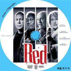 RED / レッド Movie DVD ラベル(レーベル)