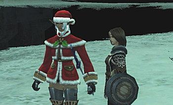 フェローさんも是非クリスマス仕様に!