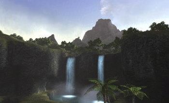 ユタンガ大森林から臨むイフ釜