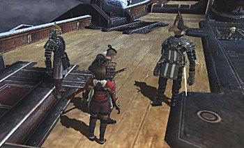 戦士さん・・・ここでは立っていますが、実はHP0です。