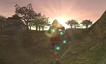 ロランベリーの夕日が眩しい!