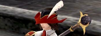 ついに…この帽子を装備する日が