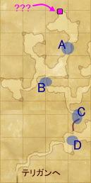 グスタフの洞門:マップ