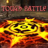 「Tough Battle」ジャケ風