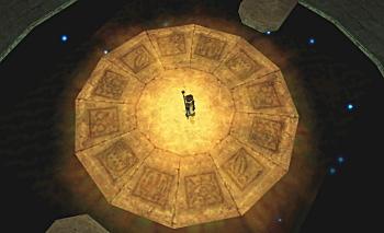 天文泉にあるこの台座に一体何が・・・