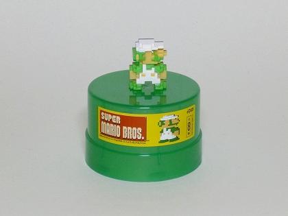DyDoオリジナル スーパーマリオブラザーズ ドットフィギュアコレクション ルイージ