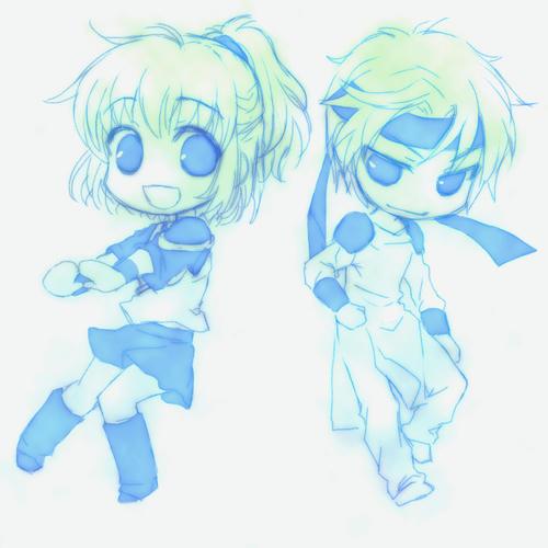 アルルとシェゾ(*´゚Д゚`)