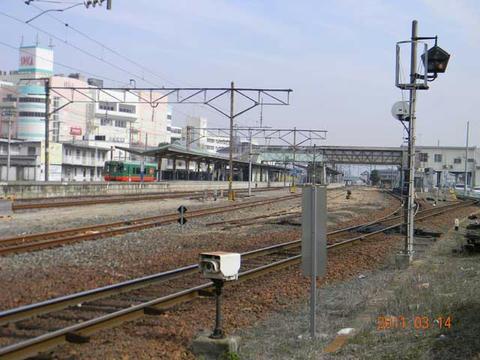 3月14日の下館駅