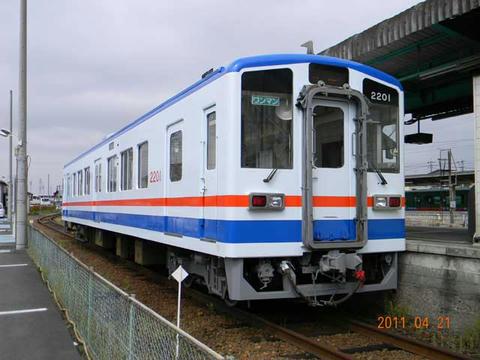 キハ2201(新塗装)