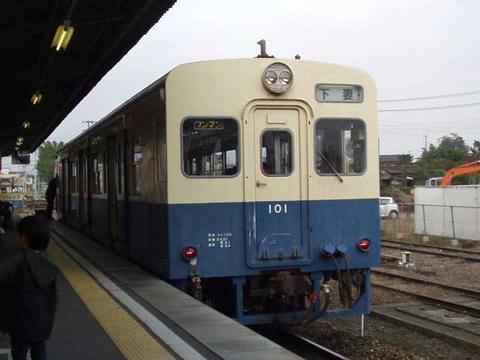 キハ101(旧気動車色)