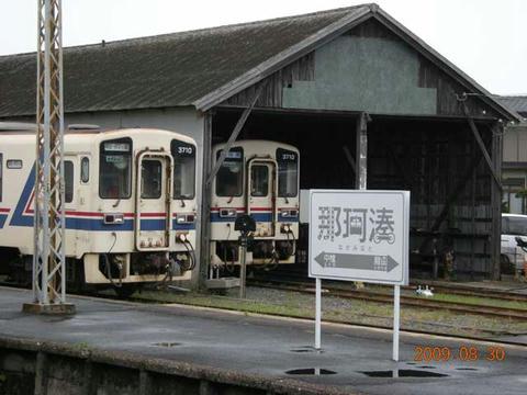 那珂湊駅(車庫)