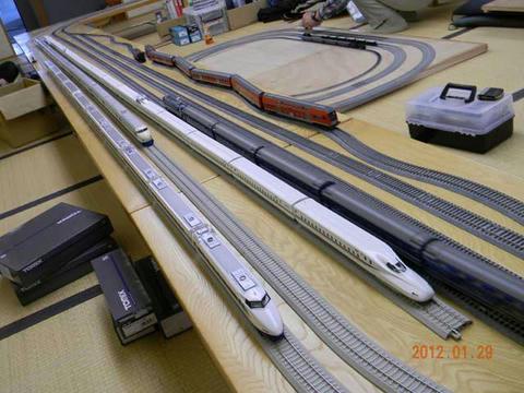 アルテリオ2012年1月定例運転会