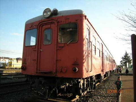 真岡駅「キハ20」保存車両