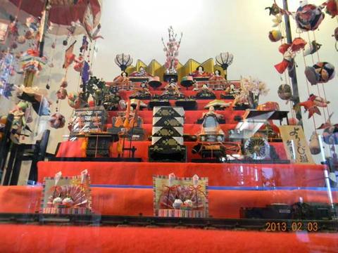筑西雛祭り ひなめぐり(2013年2月3日撮影)