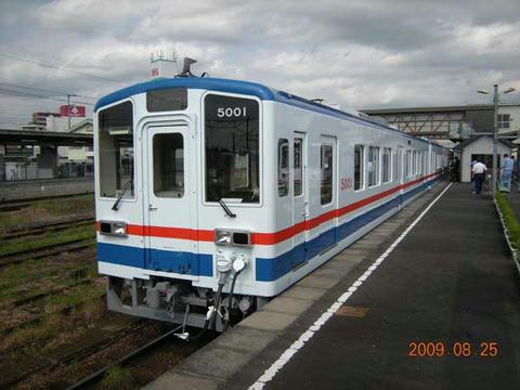「キハ5000形」1次車(2009年8月25日)