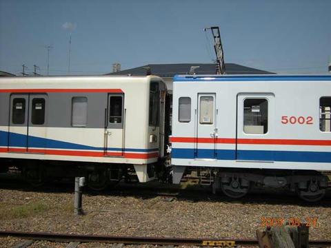 「キハ5000形」1次車の回送(2009年8月24日)