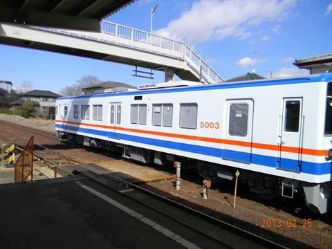 「キハ5000形」2次車(2013年2月25日)