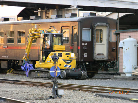 真岡駅(2014年1月1日)