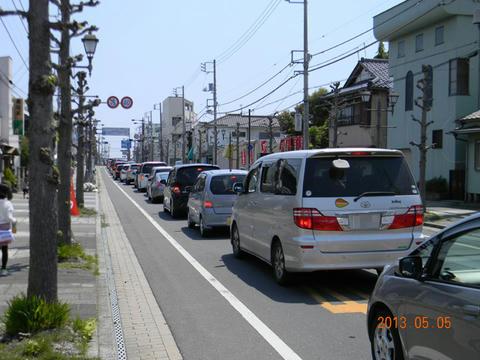那珂湊の渋滞