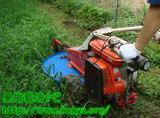 草刈機による除草