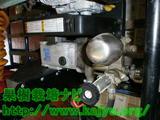 動力噴霧器ポンプのオイル交換
