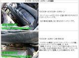 トラクターラジエタースクリーンの掃除