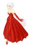 赤ドレスしーちゃん