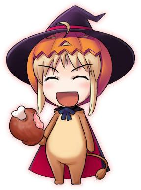 SDかぼちゃセイバーライオン