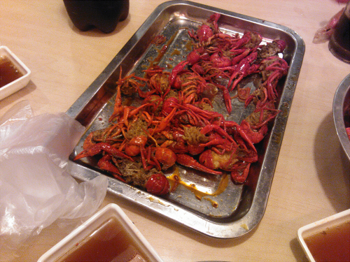 吃龙虾途中www