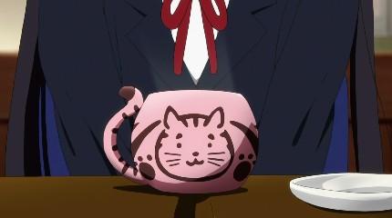 ネコって言うかトラっぽい?
