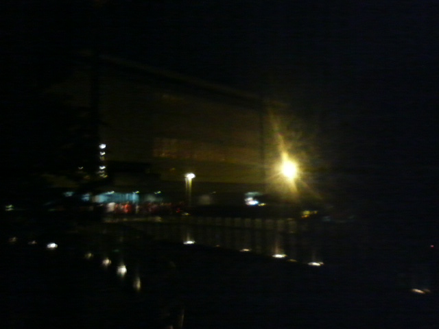 ブレたが夜の県民会館
