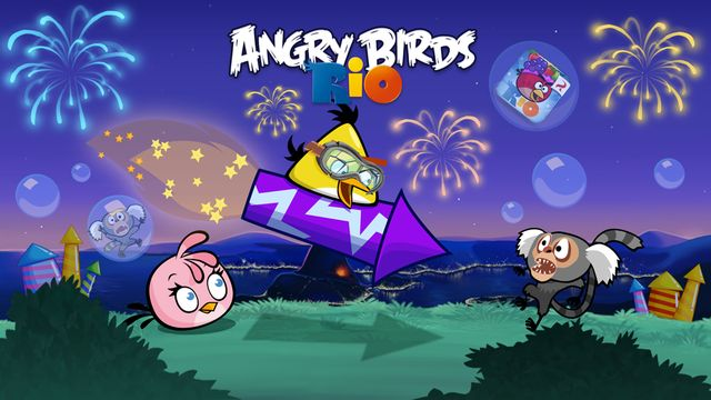 「Angry Birds Rio」怒っている鳥リオゲーム