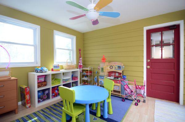 子供用ゲームルームのデザイン