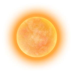 というより太陽っぽい