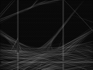 蜘蛛の糸っぽさを出すのはSAI+ペンタブなら比較的簡単でした。斜め線引くだけだし(ぁ