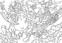 Coloring paper - 「Fairy's country」