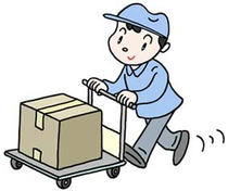 Business illustration - 「Transportation ・ Luggage ・ Delivery」