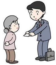 Japanese businessman ・ Japanese salesman ・ Kindness