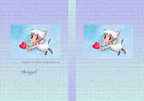 Heart ・ Present ・ Cute angel ・ Lovely angel ・ Small angel