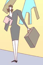 Business ・ Business woman ・ Feminine staff ・ Feminine staff ・ Work