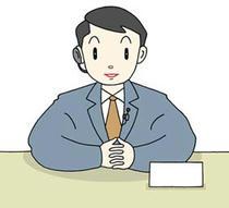 Man chairperson ・ Caster ・ Newscaster ・ Announcer ・ Announcement ・ Chairperson progress