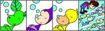 Fairy tale comic Strip - Hibernation